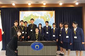 長崎県立大村高等学校の皆さん | 外務省