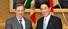 ミード・メキシコ合衆国外務大臣の来日