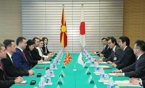 グルエフスキー首相の訪日