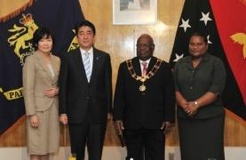 安倍総理のパプアニューギニア訪...