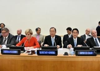 第8回包括的核実験禁止条約(CTBT)フレンズ外相会合 外務省