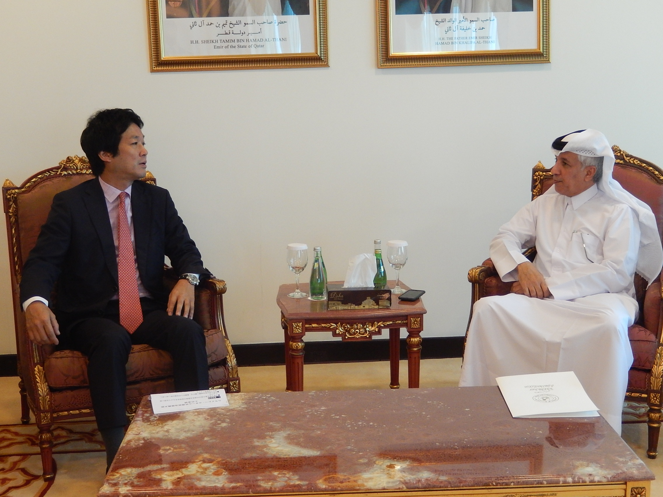 薗浦外務副大臣のカタール訪問 ...
