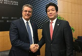 WTO非公式閣僚会合(パリ)|外務省