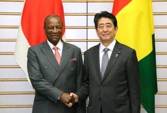 日・ギニア首脳会談 | 外務省