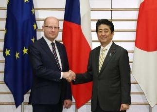 日・チェコ首脳会談 外務省