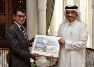 河野外務大臣のカタール国訪問(...