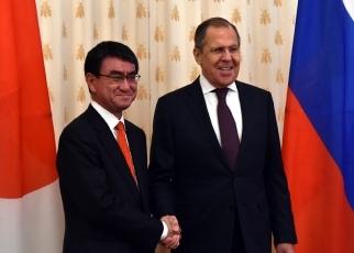 河野外務大臣のロシア訪問   外...