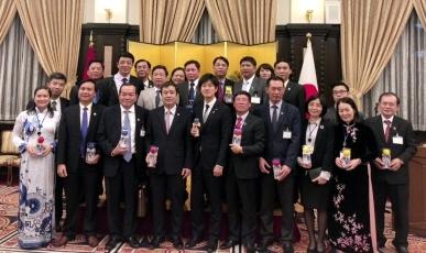 鈴木外務大臣政務官の「ベトナム共産党幹部訪日団歓迎レセプション」出席2
