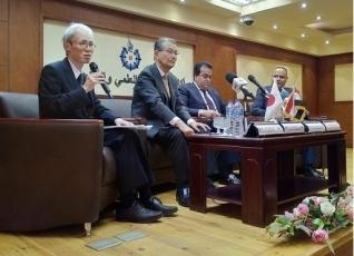 岸外務大臣科学技術顧問のパレスチナ,イスラエル,エジプト訪問|外務省