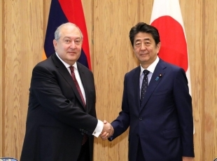 安倍総理大臣とサルキシャン・アルメニア大統領との会談|外務省