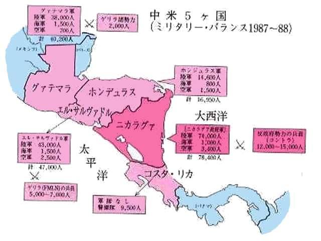 7)中米紛争