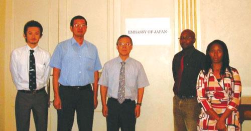 新しくできた日本大使館~「外交力」強化に向けて~ | コラム | 巻末資料