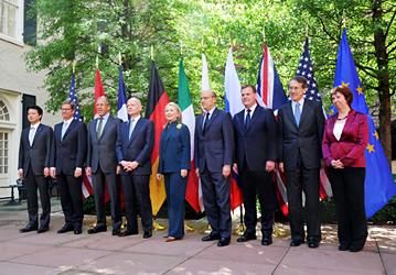 (写真)玄葉外務大臣のG8外相会合出席(平成24年4月11日〜12日)