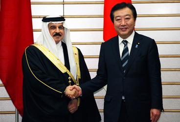 (写真)ハマド・バーレーン王国国王の来日(平成24年4月11日〜13日)