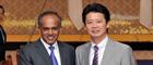 K・シャンムガム・シンガポール外務大臣の来日