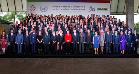 (写真)国連持続可能な開発会議(リオ+20)(平成24年6月20日〜22日)
