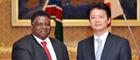 ヌヨマ・ナミビア共和国外務大臣の来日