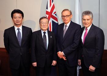 (写真)第4回日豪外務・防衛閣僚協議(平成24年9月14日)