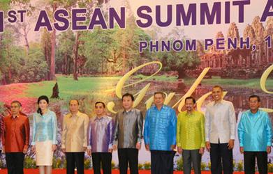 (写真)野田総理のASEAN関連首脳会議等出席(平成24年11月18日〜20日)(写真提供:内閣広報室)