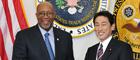 岸田外務大臣とカーク米国通商代表との会談