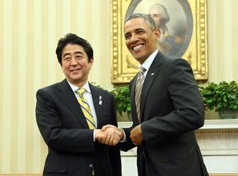 (写真)安倍総理大臣の米国訪問(平成25年2月21日〜24日)