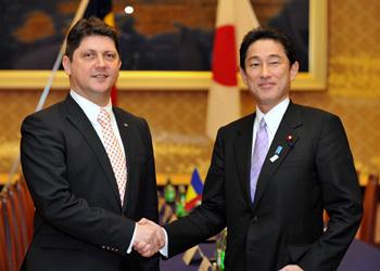 コルラツェアン・ルーマニア外務大臣の来日(平成25年2月26日〜27日)