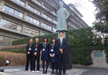 小中高生の外務省訪問(平成25年3月7日)富山県(高岡市)県立高岡高等学校