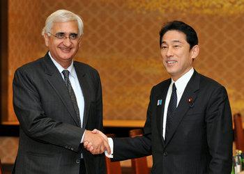 サルマン・クルシード・インド外務大臣の来日(平成25年3月26日〜28日)