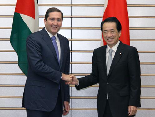 Japan-Jordan Summit Meeting(Photo)