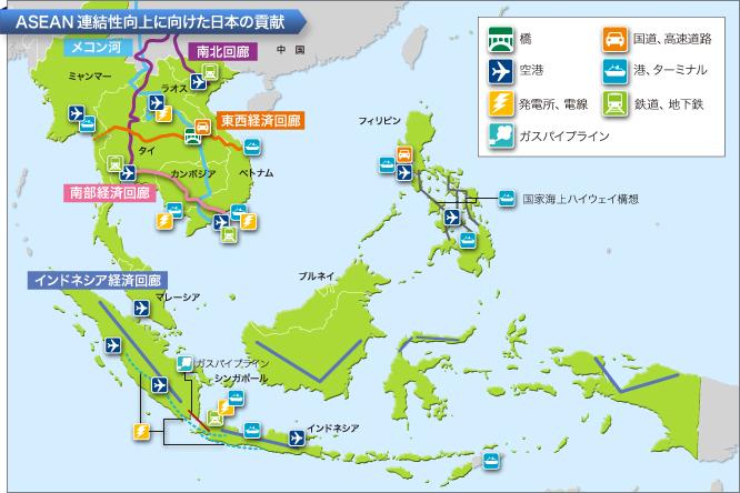 ASEAN連結性向上に向けた日本の貢献 ■2015年ASEAN共同体構築に向けて ASEANは,
