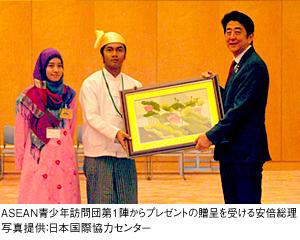 ■「日・ASEAN友好協力40周年」スタート!■日本とASEANの40年を展望■東日本大震災を契機にさらに深まった日・ASEANの絆■「対ASEAN外交5原則」?対等なパートナーとして■日・ASEAN友好協力40周年「キックオフ・レセプション」の開催■日・ASEAN友好協力40周年を盛り上げていくために■日本とASEANの関係が,新たなステージへ