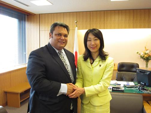 (写真)ナウルとの二国間会談 昼食会 日本ツバル二国間会談 日本ナウル二国間会談 日本ミクロネシ