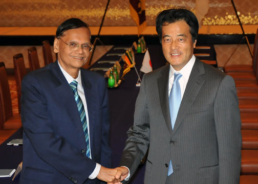 Japan-Sri Lanka Foreign Ministers' Meeting(Photo)