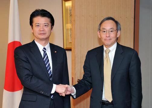 外務省: 玄葉外務大臣とチュー米...