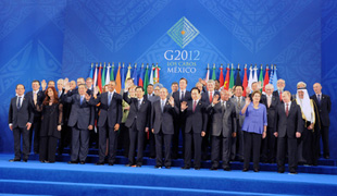 (photo)G20 Los Cabos Summit-2