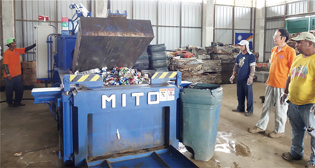 Stories from the field 11: Solving Garbage Disposal Issues