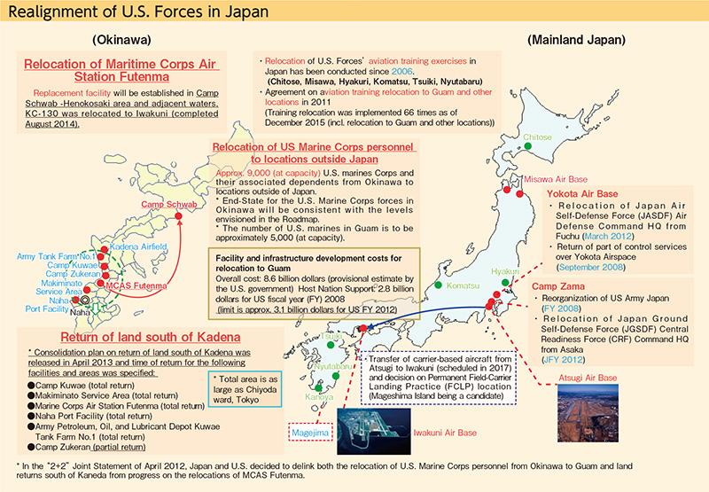 Us Bases In Okinawa Map Globalinterco - Us bases in japan map