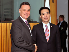 (photo)Visit to Australia by Minister for Foreign Affairs of Japan-1