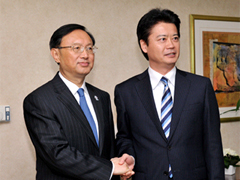 (Photo)Japan-China Foreign Ministers' Meeting (Overview)-1