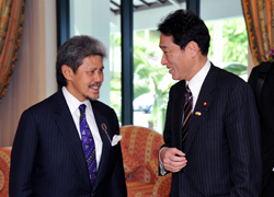(Photo) Japan-Brunei Foreign Ministers' Meeting & Luncheon (1)