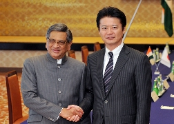 (Photo)Fifth Japan-India Foreign Ministers'' Strategic Dialogue (Overview)-1