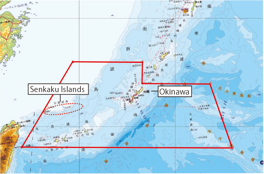 Situation Of The Senkaku Islands Ministry Of Foreign Affairs Of - Japan map islands