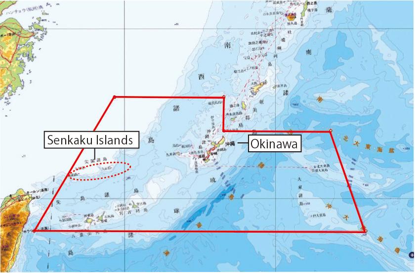 Senkaku Islands QA Ministry Of Foreign Affairs Of Japan - Japan map with latitude and longitude