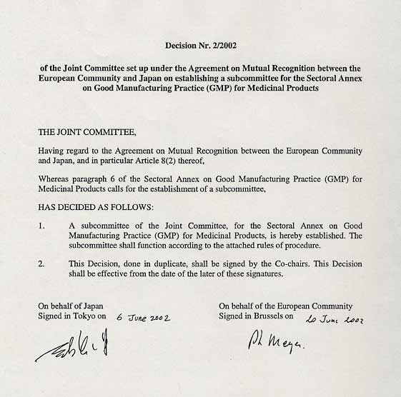 Marvelous 2/2002 Of The Joint Committee Set Up Under The Agreement On