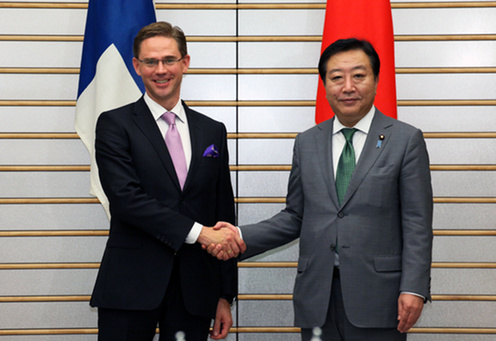 (Photo)Japan-Finland Summit Meeting-1