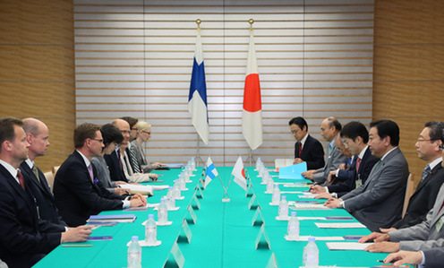 (Photo)Japan-Finland Summit Meeting-2