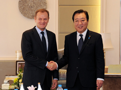 Japan-Poland Summit Meeting (Overview) 1