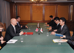 (Photo)Japan-UK Foreign Ministers' Meeting (Overview) 2
