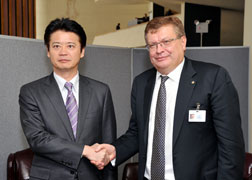 (Photo) Japan-Ukraine Foreign Ministers' Meeting (Outline) 1