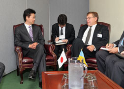 (Photo) Japan-Ukraine Foreign Ministers' Meeting (Outline) 2